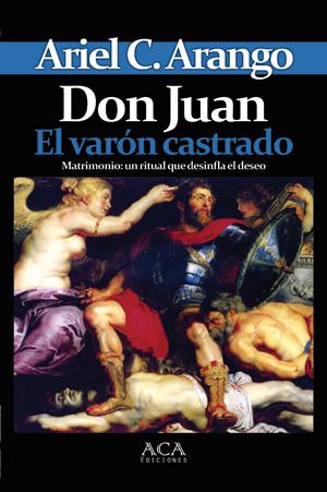 """Tapa de""""Don Juan. El varón castrado"""""""